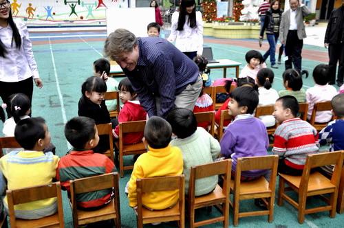 幼儿园试教相片