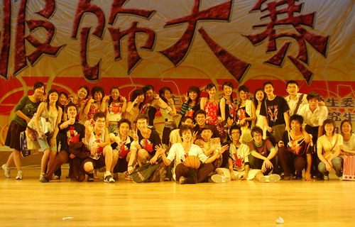 2007年广西大学第一届服饰大赛冠军